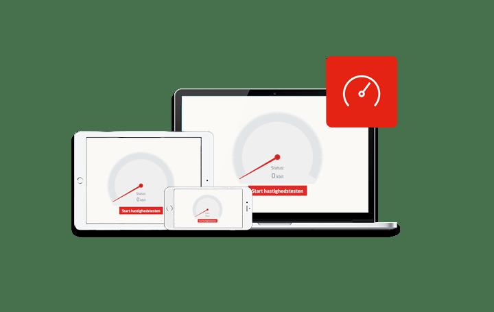 bredbånd hastighedstest telestyrelsen