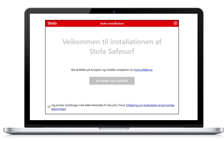 Installation af SafeSurf i Windows
