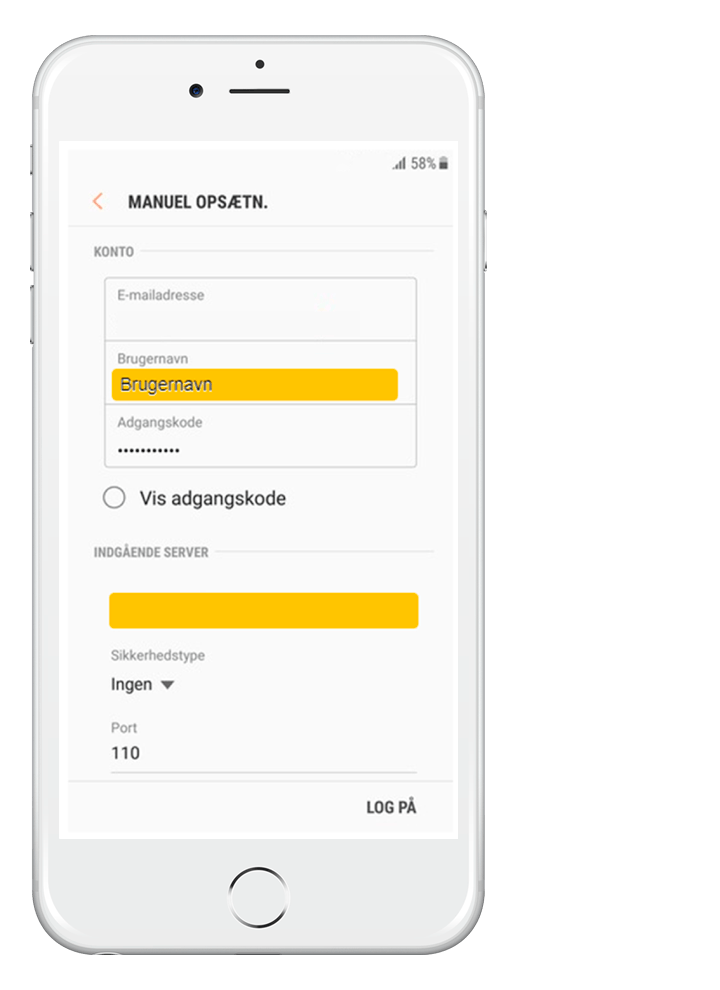 Stofa-mail på Android1